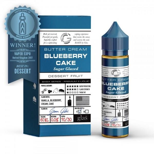 Glas Blueberry cake Shortfill