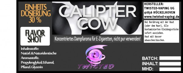 Twisted Aroma Calipter Cow FlavorShot 10ml