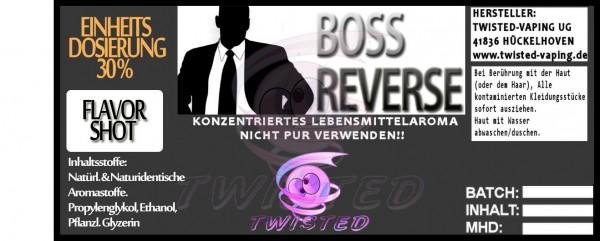Twisted Aroma Boss Reverse FlavorShot