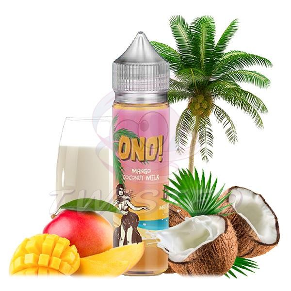 ONO! Mango Coconut Milk US Premium Liquid 50ml 0mg