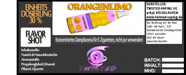 Twisted Aroma Orangenlimonade FlavorShot