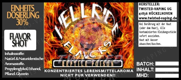 Hellride Aroma Reptile Poison FlavorShot