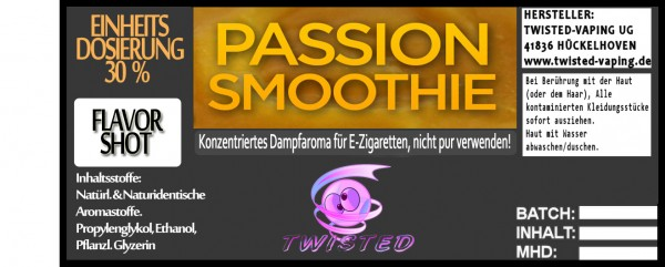Twisted Aroma Passion Smoothie FlavorShot