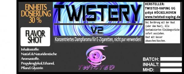 Twisted Aroma Twistery V2 FlavorShot 10ml  Eventuell nahes oder überschrittenes Haltbarkeitsdatum