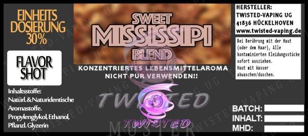 John Smith´s Blended Tobacco Flavor Sweet Mississipi FlavorShot