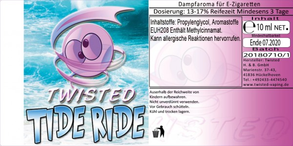 Twisted Aroma Tide Ride 10ml