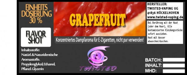 Twisted Aroma Grapefruit FlavorShot