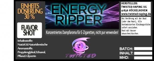Twisted Aroma Energy Ripper FlavorShot