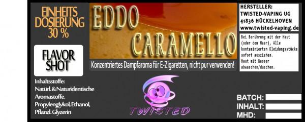 Twisted Aroma Eddo Caramello FlavorShot 5ml  Eventuell nahes oder überschrittenes Haltbarkeitsdatum