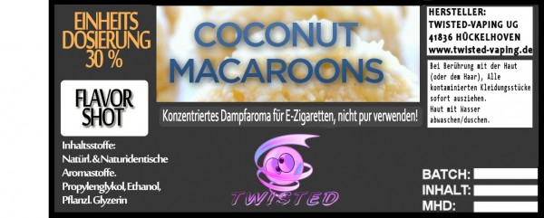 Twisted Aroma Coconut Macaroons FlavorShot