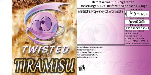 Twisted Aroma Tiramisu 10ml