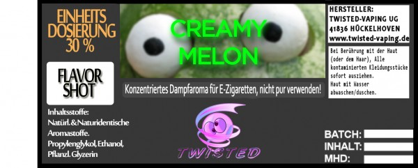 Twisted Aroma Creamy Melon FlavorShot