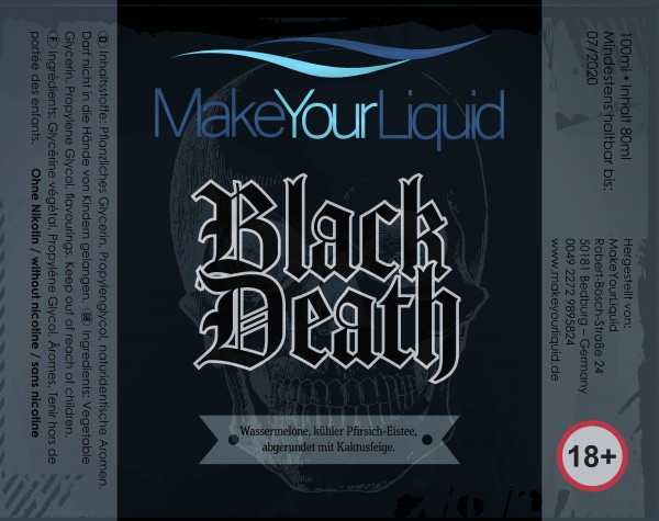Make Your Liquid Black Death Shake ´n Vape 80ml