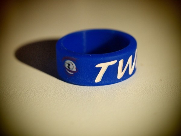 Twisted Vaping Vape Bands Blau