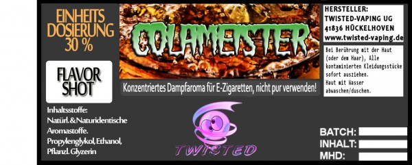 Twisted Aroma Colameister FlavorShot 5ml