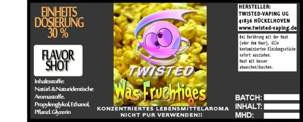 Twisted Aroma Was Fruchtiges FlavorShot 10ml