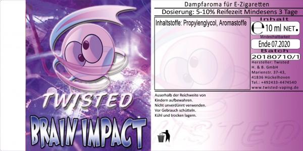 Twisted Aroma Brain Impact 10ml