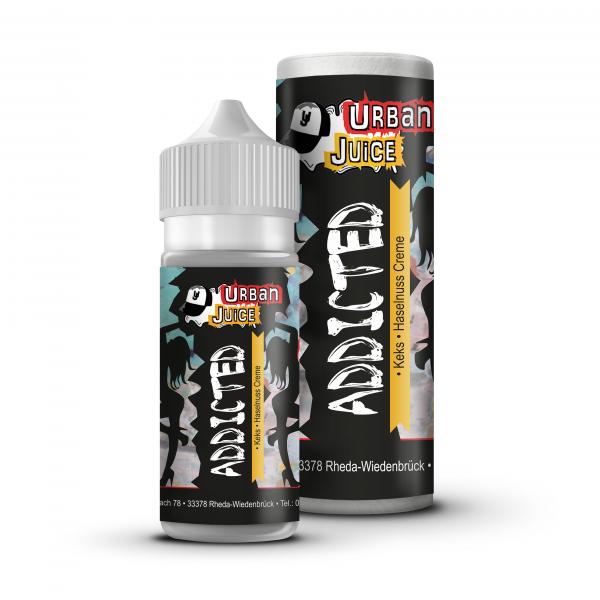 Urban Juice Mix & Vape Addicted E-Liquid 100ml 0mg