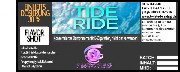 Twisted Aroma Tide Ride FlavorShot