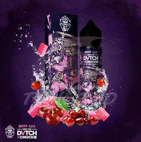 DVTCH CHUCKIE BASSKICK (Kirsch-Kaubonbon) - E-Liquid made in Amsterdam 50ml