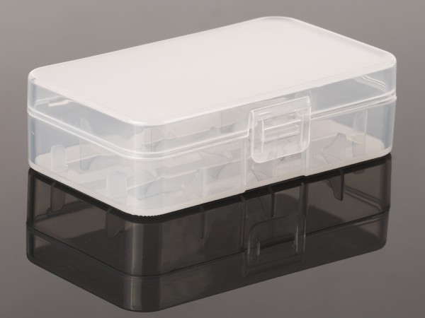Batteriecase für 2 Stück 20700er / 21700er Akku