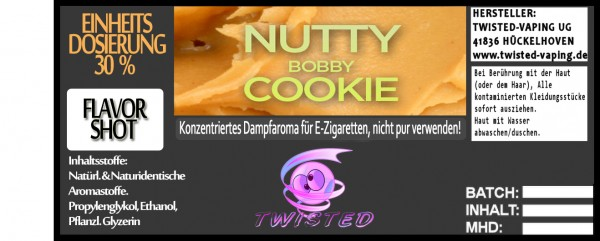 Twisted Aroma Nutty Bobby Cookie FlavorShot