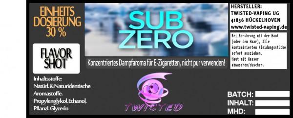Twisted Aroma Sub Zero FlavorShot