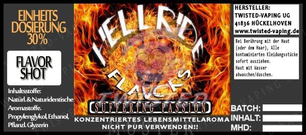 Hellride Suffering Passion FlavorShot