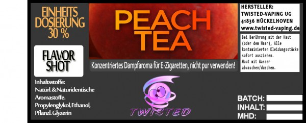 Twisted Aroma Peach Tea FlavorShot 5ml