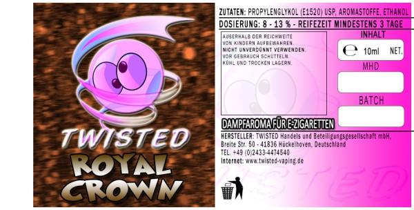 Twisted Aroma Royal Crown 10ml