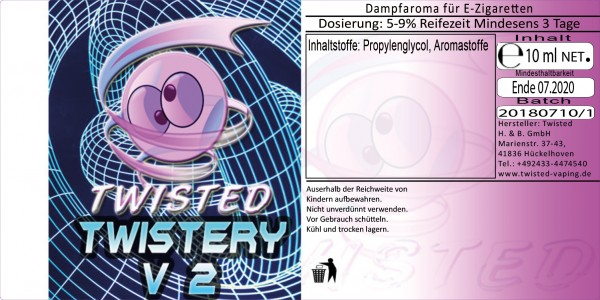 Twisted Aroma Twistery V2 10ml