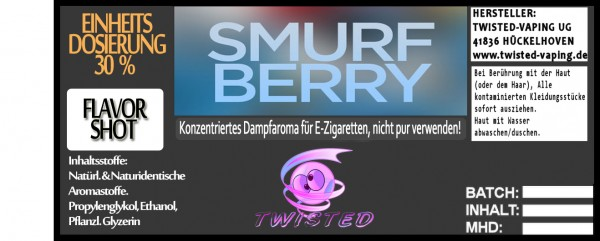 Twisted Aroma Smurfberry FlavorShot