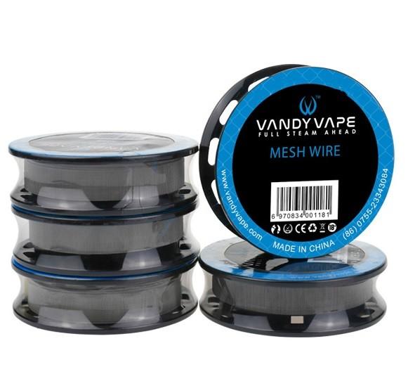 Vandy Vape SS316L Mesh Wire 200 Wickeldraht 1,5m