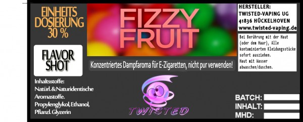 Twisted Aroma Fizzy Fruit FlavorShot 5ml
