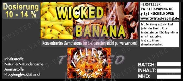 Hellride Wicked Banana 10ml