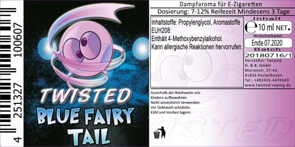 Twisted Aroma Blue Fairy Tail 10ml Abverkauf eventuell MHD Ware