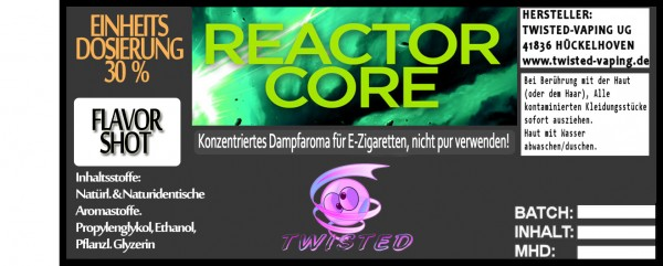 Twisted Aroma Reactor Core FlavorShot