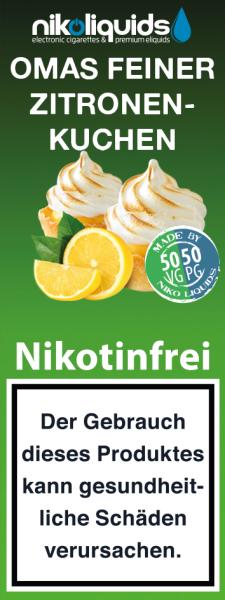 10ml Omas Feiner Zitronenkuchen