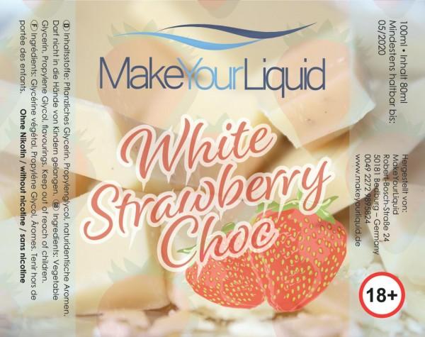 Make Your Liquid White Strawberry Choc Shake ´n Vape 80ml