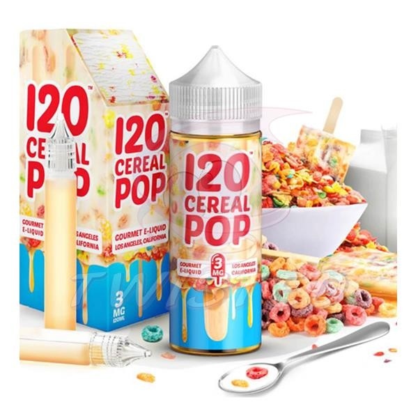 120 Cereal Pop US Premium Liquid 100ml 0mg