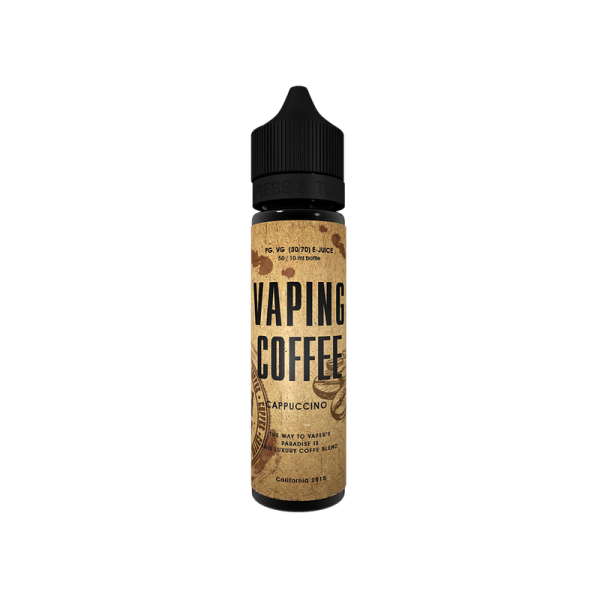 VoVan Coffee Cappuccino E-Liquid 50ml 0mg