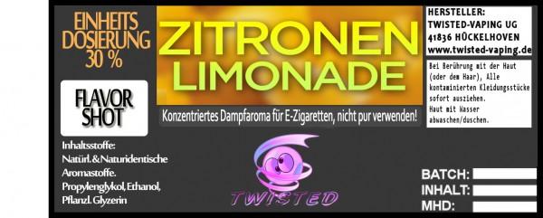 Twisted Aroma Zitronen-Limonade FlavorShot