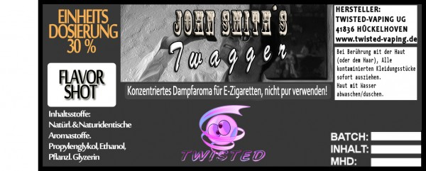 John Smith´s Blended Tobacco Flavor Twagger FlavorShot 5ml