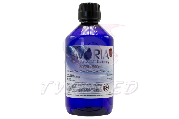 Avoria Deutsche Liquid Basen  0mg/ml Velvet (80/20)