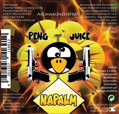 Peng Juice Napalm Longfill Aroma 20ml 0mg