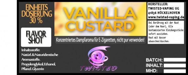 Twisted Aroma Vanilla Custard FlavorShot