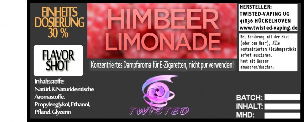Twisted Aroma Himbeer Limonade FlavorShot 5ml