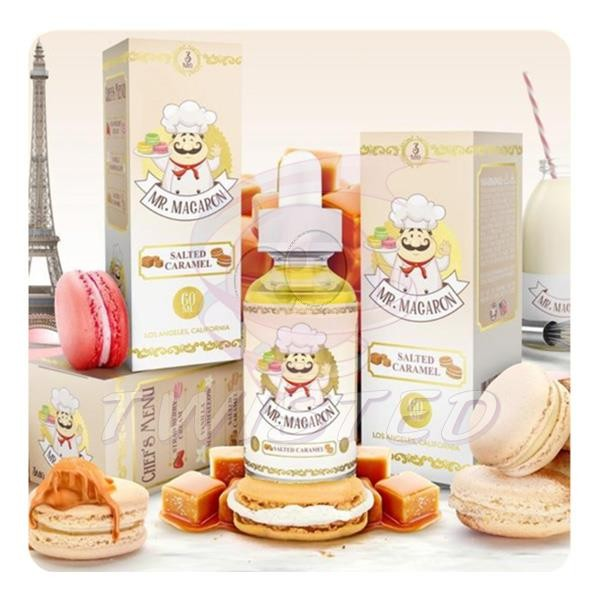 Mr. Macaron Salted Caramel US Premium Liquid 50ml 0mg