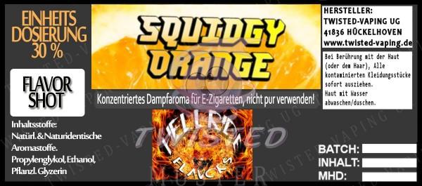 Hellride Aroma Squidgy Orange FlavorShot