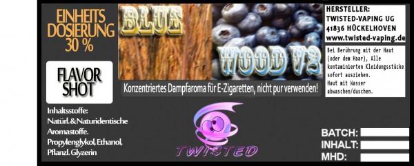 John Smith´s Blended Tobacco Flavor Blue Wood V2 FlavorShot 5ml  Eventuell nahes oder überschrittene
